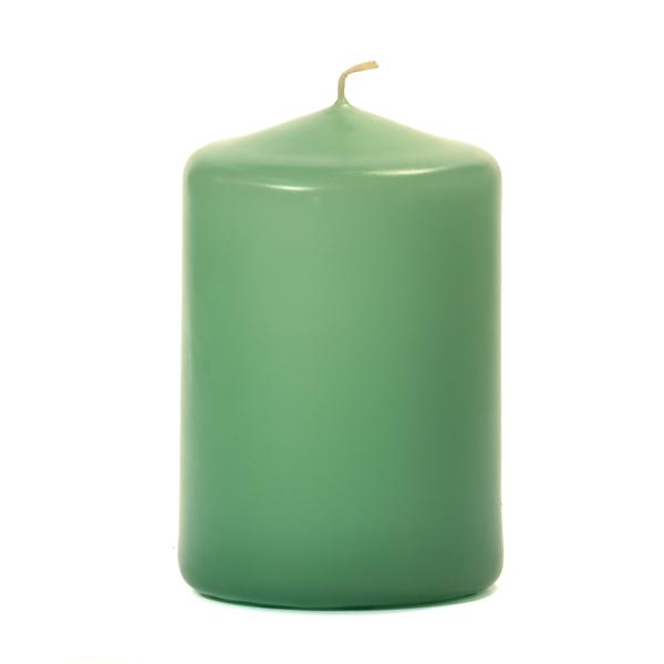 3x4 Mint Green Pillar Candles Unscented
