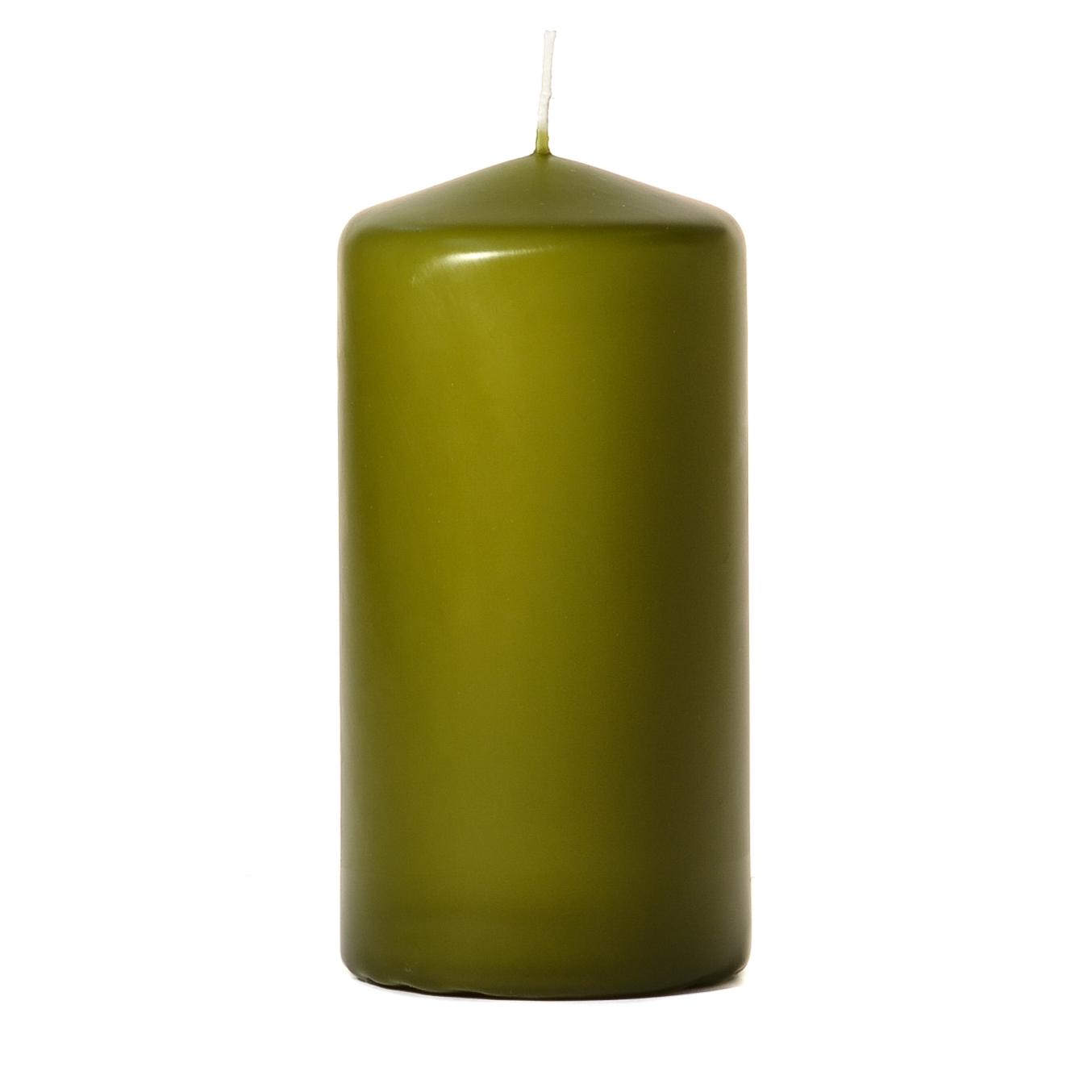 3x6 Sage Pillar Candles Unscented