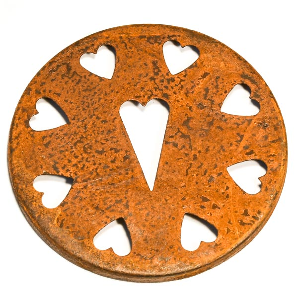 Jar Caps Rust Heart