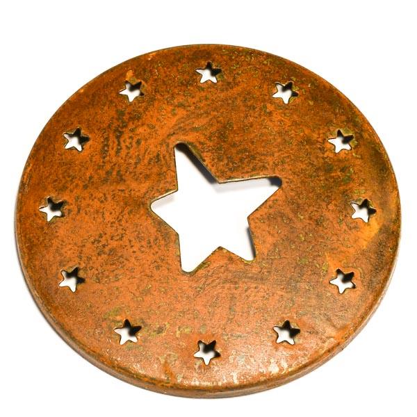 Jar Caps Rust Star