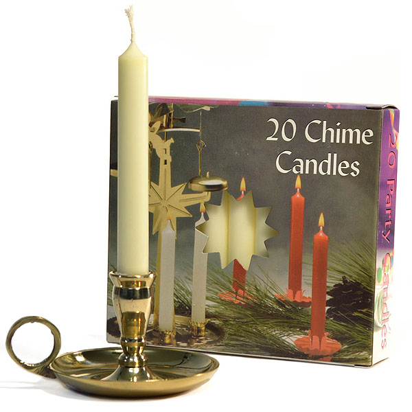 Chime Candles Ivory