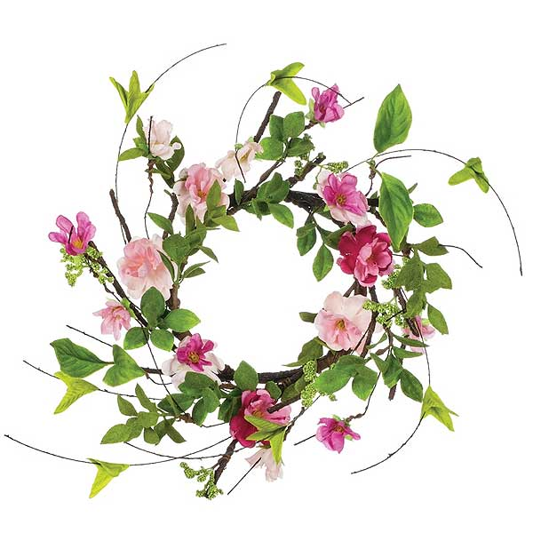 Cherry Blossom Candle Ring 4.5 Inch