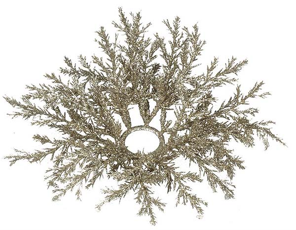 Arborvitae Candle Rings 1.5 Inch