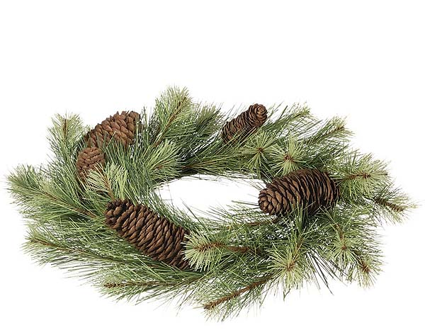 Black Hills Pine Candle Rings 6.5 Inch