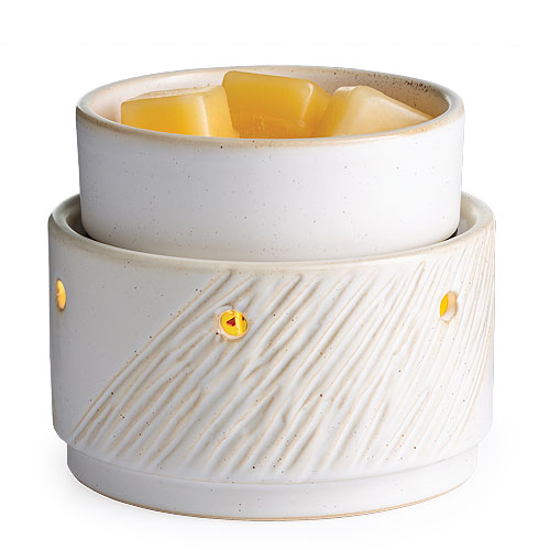 Candle Warmer and Dish Aspen