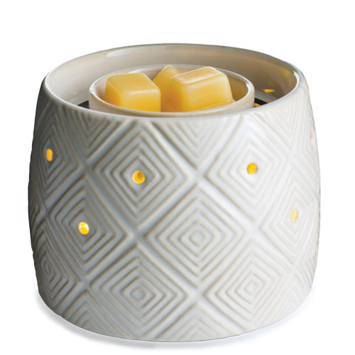 Illuminaire Fan Candle Warmer Geometric