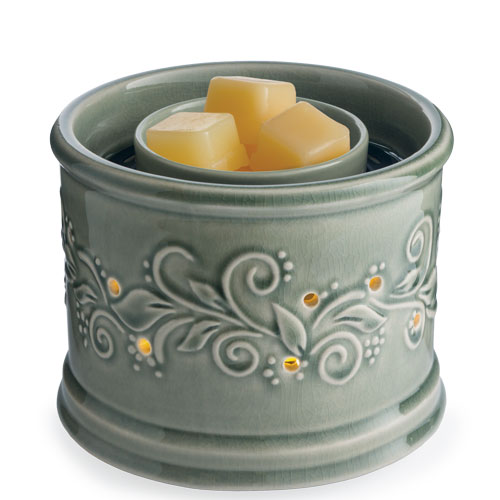 Illuminaire Fan Candle Warmer Perennial