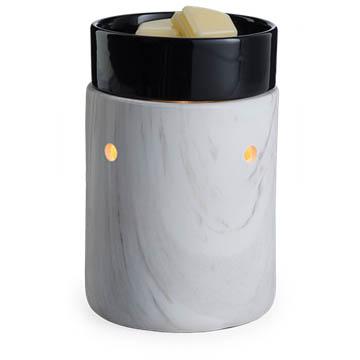White Marble Tart Burner