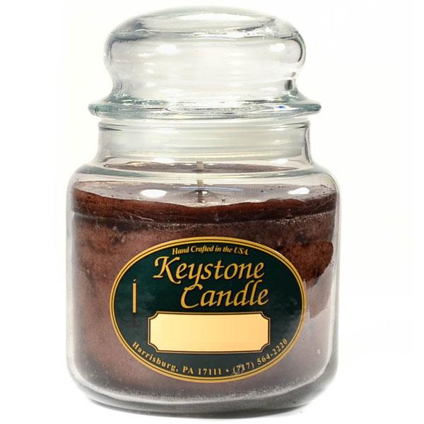 16 oz Chocolate Fudge Jar Candles