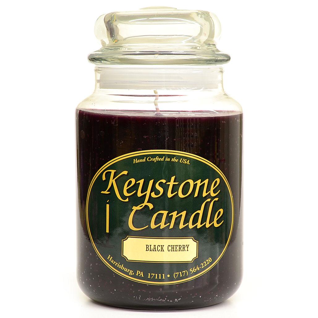 26 oz Black Cherry Jar Candles