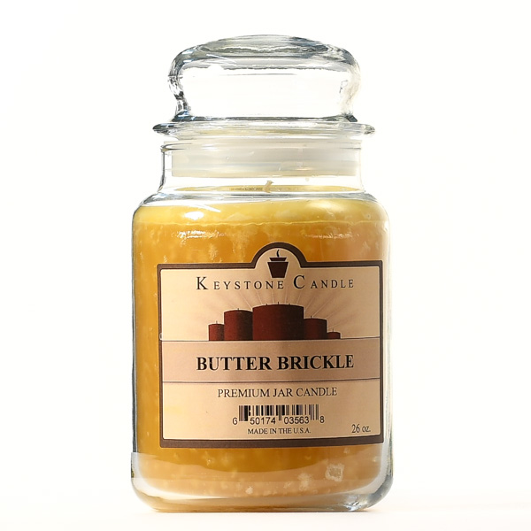 26 oz Butter Brickle Jar Candles