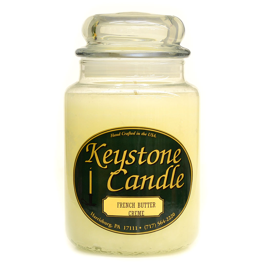 26 oz French Butter Cream Jar Candles