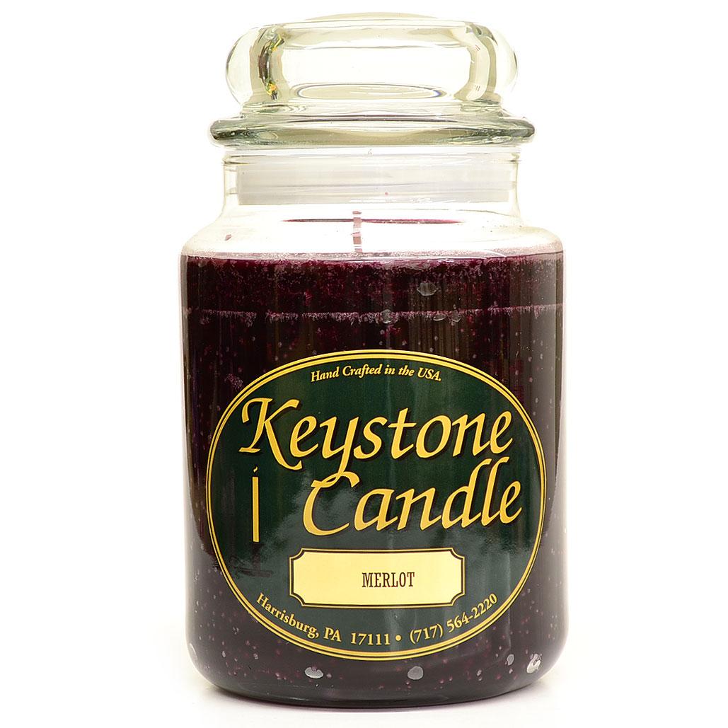 26 oz Merlot Jar Candles