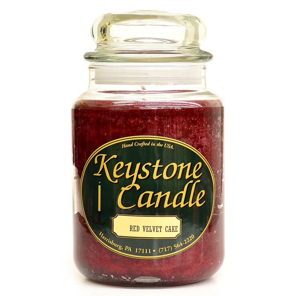 26 oz Red Velvet Cake Jar Candles