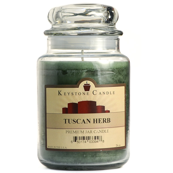 26 oz Tuscan Herb Jar Candles