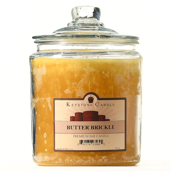 64 oz Butter Brickle Jar Candles