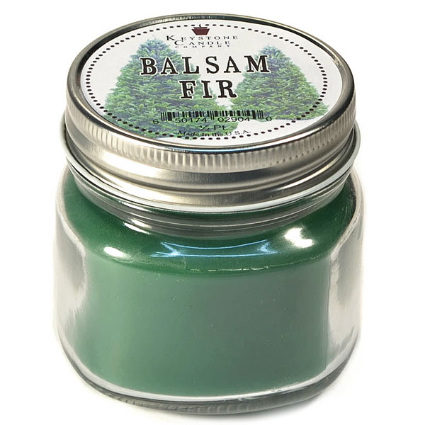Half Pint Mason Jar Candle Balsam Fir