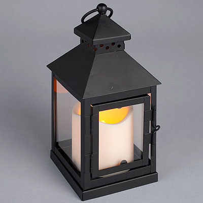 LED Pillar and Mini Lantern