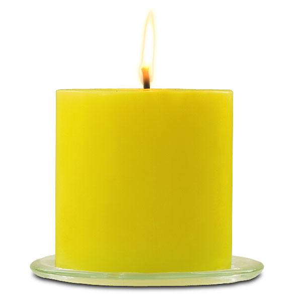 Outdoor Pillar Candle Citronella