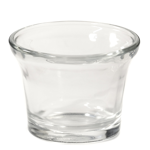 Clear Votive Cup Oyster