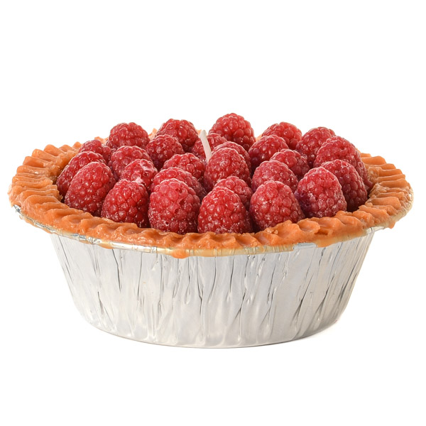 Raspberry Pie Candles 5 Inch