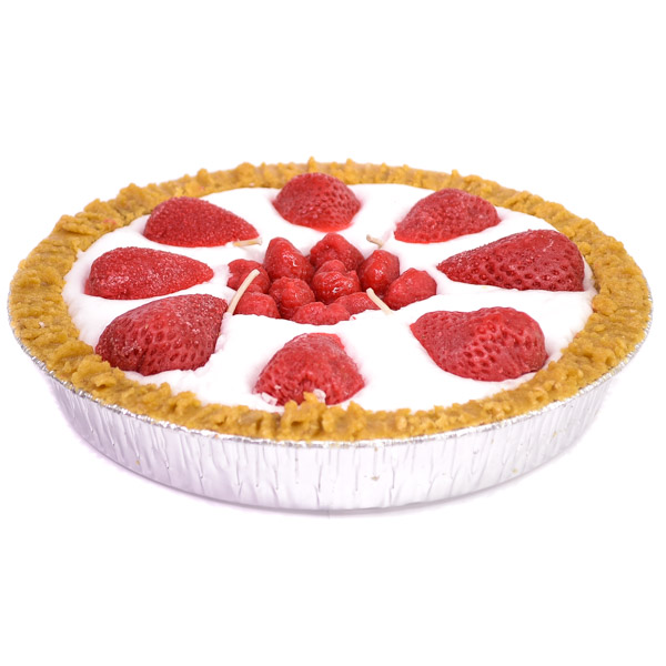 Strawberry Pie Candles 9 Inch