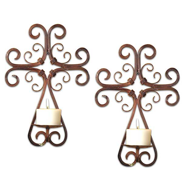 Set of 2 Tejas Wall Sconces