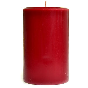 Recycled 4x6 Pillar Candles