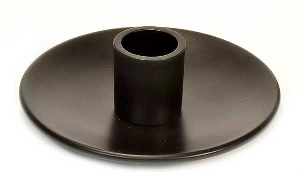 Simplicity Bronze Taper Candle Holder 4 Inch