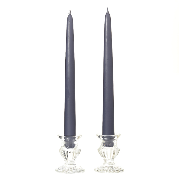 Unscented 10 Inch Wedgwood Tapers