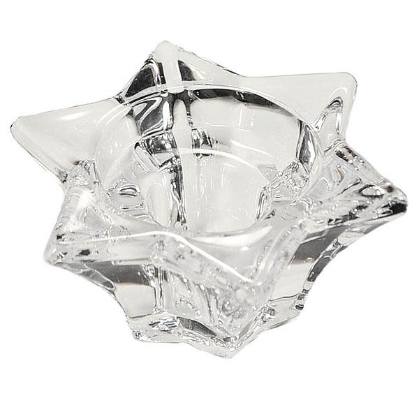 Glass Taper Holder Star
