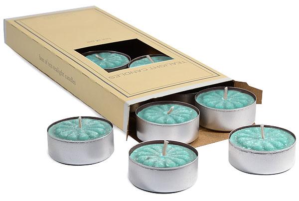 Cool Citrus Basil Tea Lights