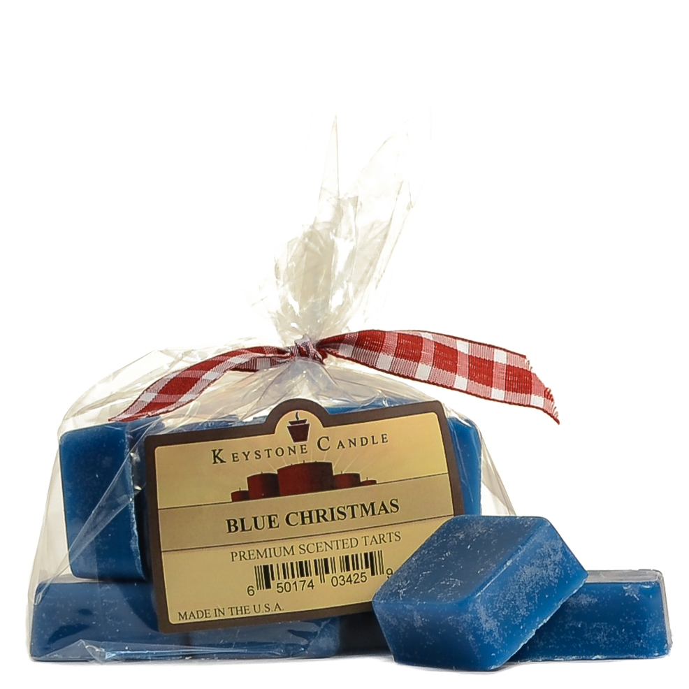 Blue Christmas Scented Wax Melts Bag of 10