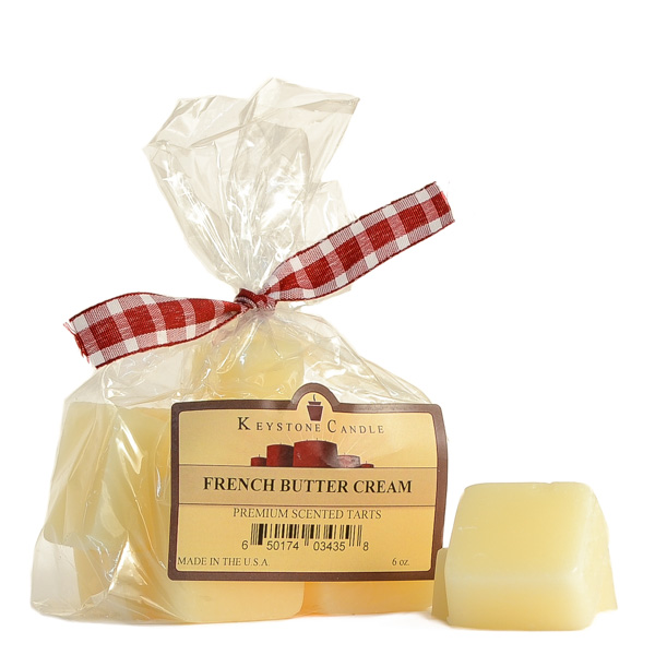 French Butter Creme Scented Wax Melts Bag of 10