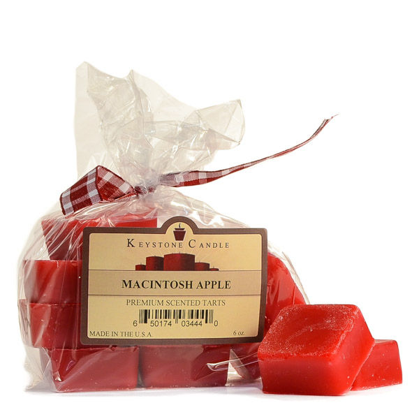 Macintosh Apple Scented Wax Melts Bag of 10