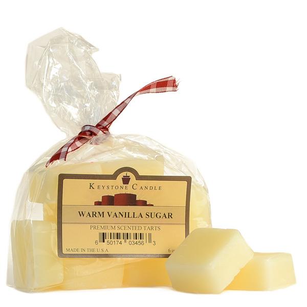 Warm Vanilla Sugar Scented Wax Melts Bag of 10