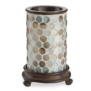 Pearl Glass Illumination Tart Warmer