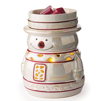 Glimmer Candle Warmer Snowy
