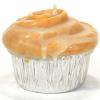 Muffin Shaped Candle Cinnamon Bun