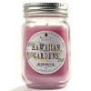 Pint Mason Jar Candle Hawaiian Gardens