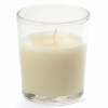 Ivory Votive in Round Cup