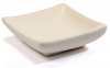 Small Square Ceramic Dish Ivory