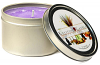 Lavender Candle Tins 8 oz