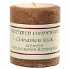 Textured 3x3 Cinnamon Stick Pillar Candles