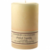 Textured 4x6 French Vanilla Pillar Candles