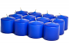 Unscented Royal Blue Votives 10 Hour
