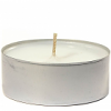 White Unscented Mega Tea Light