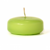 Lime Green Floating Candles Small Disk