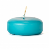 Mediterranean Blue Floating Candles Small Disk