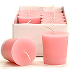 Baby Powder Pink Votive Candles